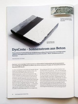 DysCrete - Sonnenstrom aus Beton