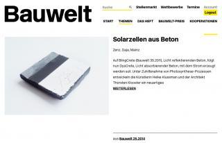 Bauwelt 25.2014 Heike Klussmann Thorsten Klooster