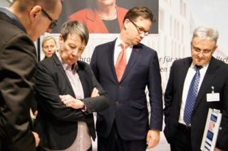 Ministerin Barbara Hendricks Bau Kunst Erfinden