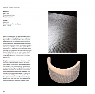 BlingCrete - iF Product and Material yearbook 2012