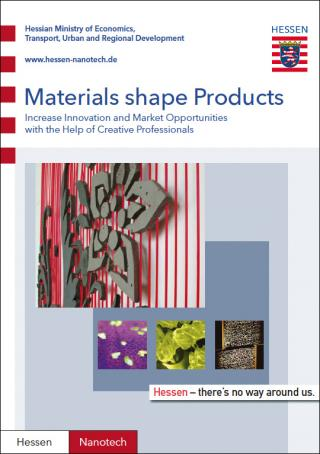 materials shape products: blingcrete